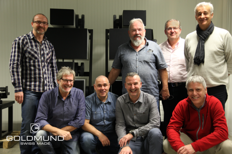 customer visit to goldmund factory in geneva, switzerland