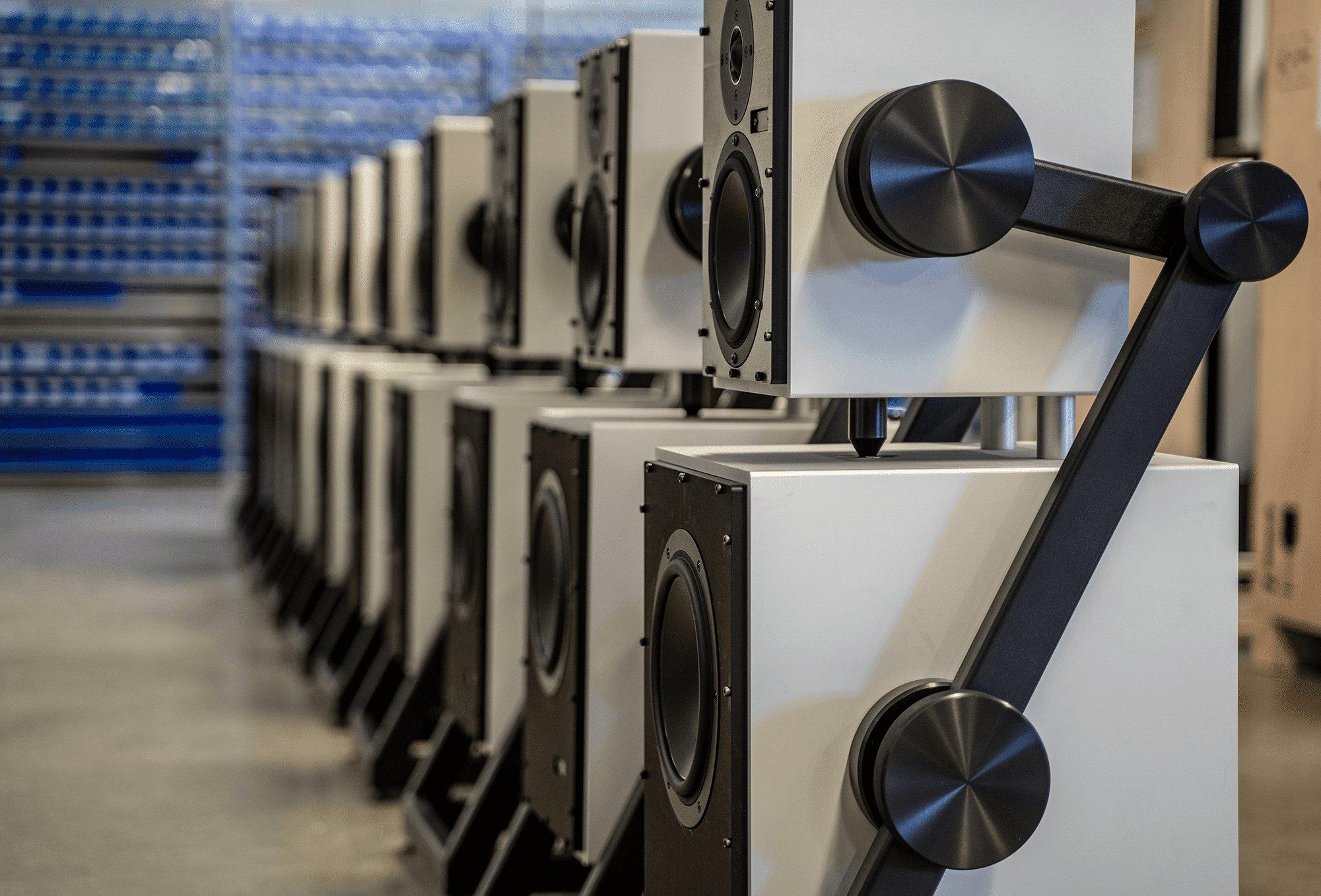 Goldmund Prana Goldmund Samadhi, wireless speakers, tv speakers, speaker system