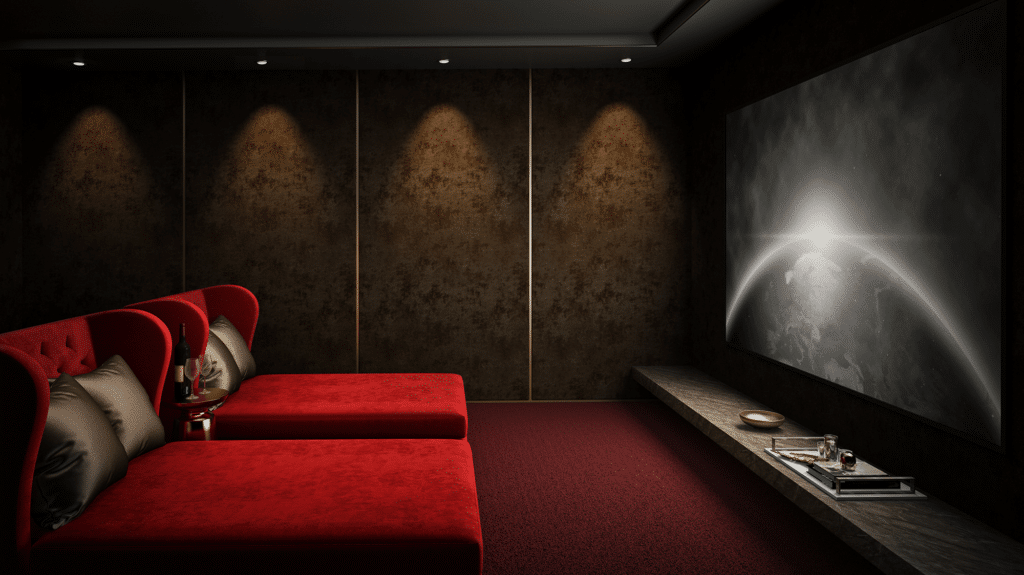 Logos Room Home Theatre
