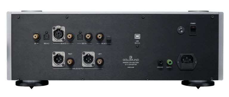 Mimesis 20H nextgen digital to analog converter rear connections