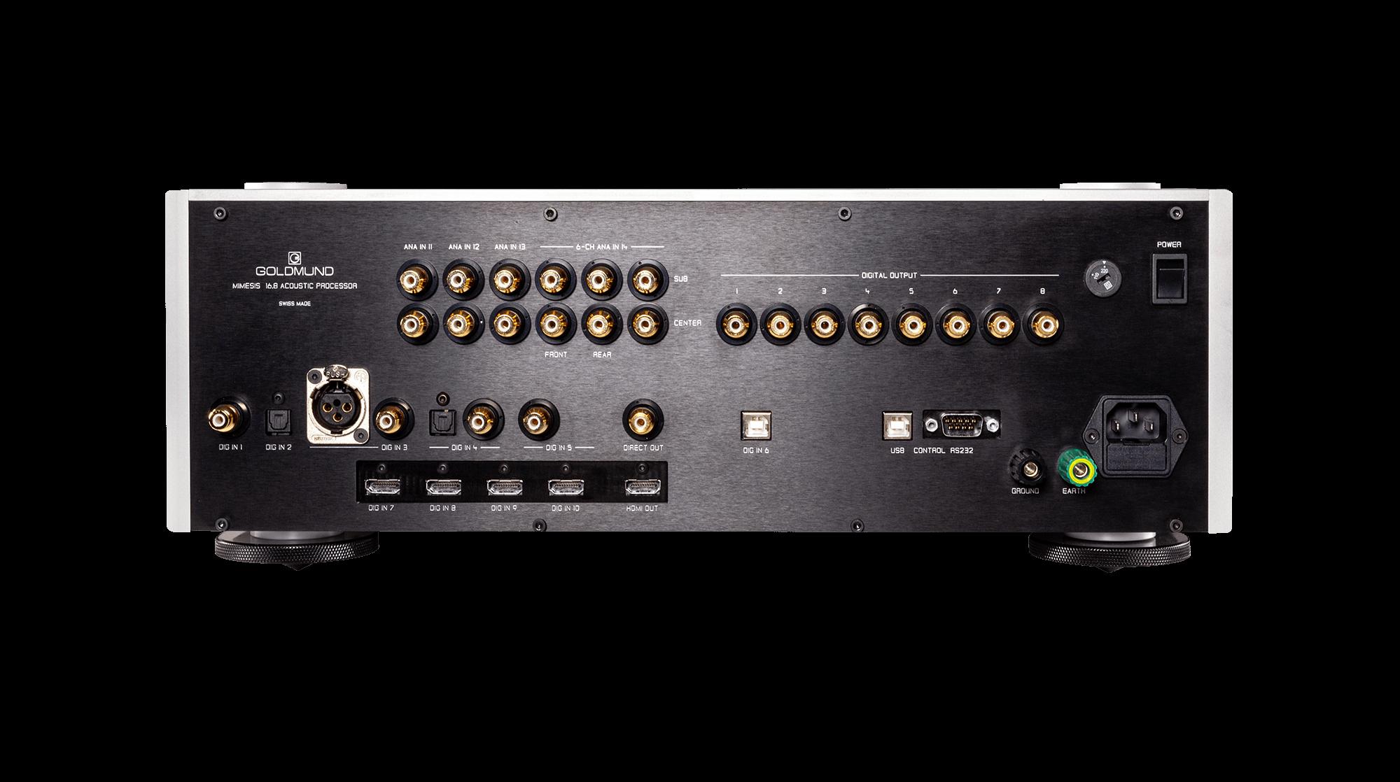 Mimesis 16.8 acoustic processor