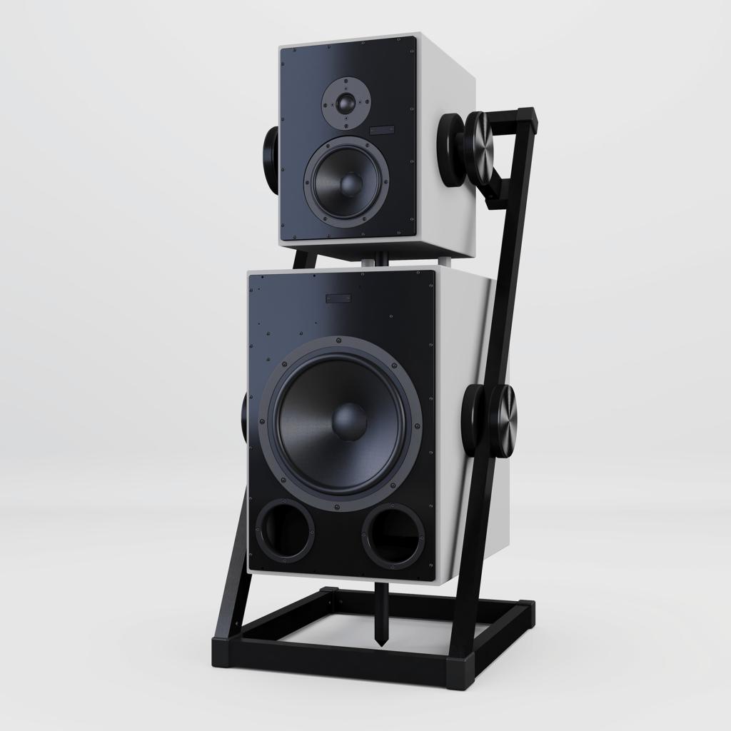 Satya floor wireless speakers